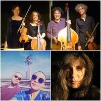 1) Quatuor Brac pic by Hannes Schneider  2) BEAM SPLITTER pic by BEAM SPLITTER 3) Andrea Parkins pic by L. Parkins