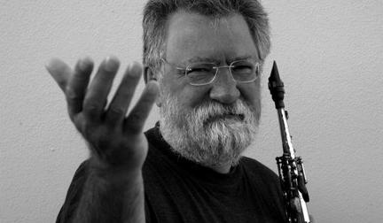 Evan Parker Photo by Caroline Forbes