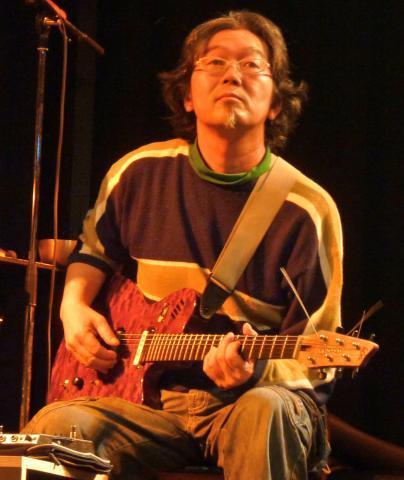 Kazuhisa Uchihashi, 2009, © Andy Newcombe