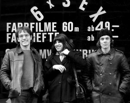 Sven-Åke Johansson ca. 1970 (on the right) with E.M.T