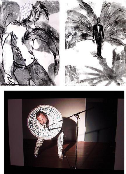 Christoph Hefti und sein Kostüm