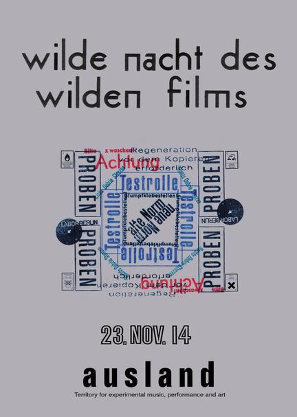 Wilde Nacht des Wilden Films  |  Grafik Melissa Dullius