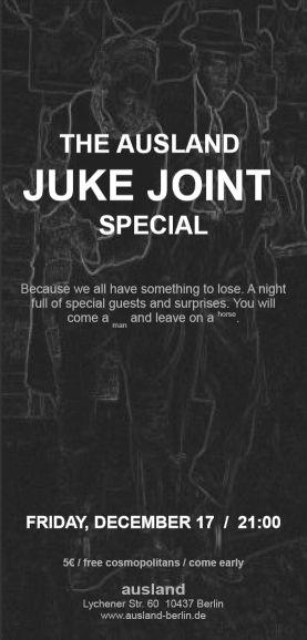 the ausland juke joint special