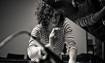 Magda Mayas © by Peter Gannushkin