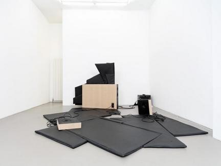 Stefan Roigk black murmur, 2008, mixed media, 4 channel