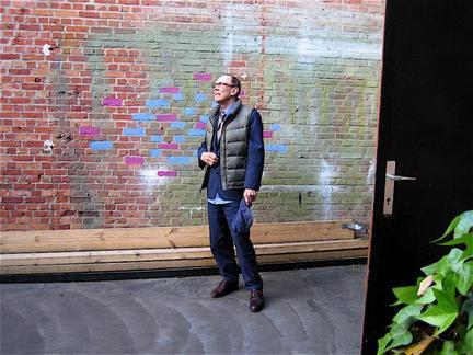 Sven-Åke Johansson at Kunstencentrum Hasselt, Belgium